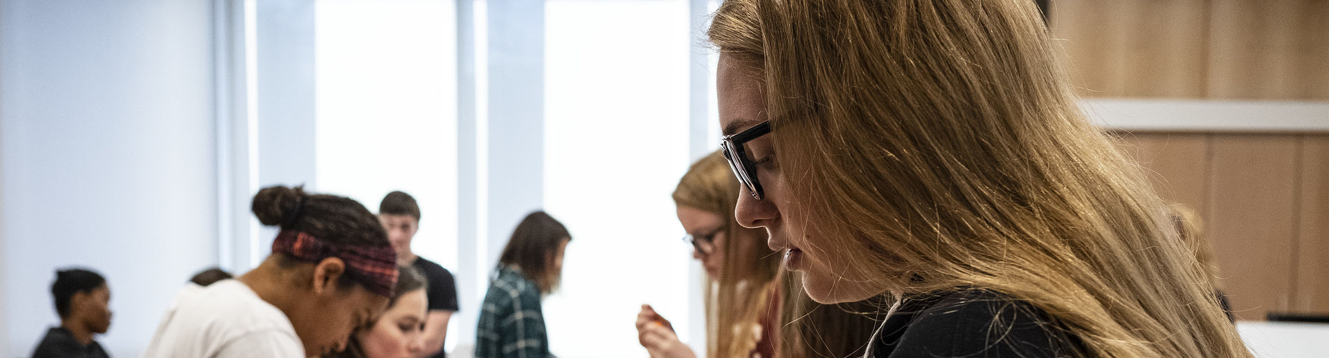 Students in IDEAS Hub