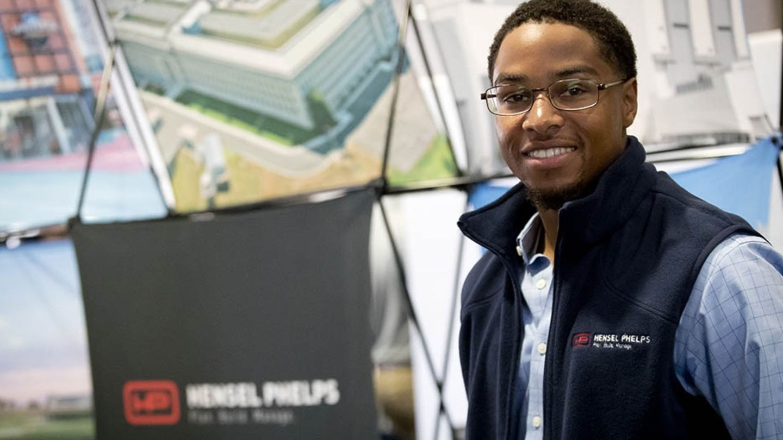 Black Temple Alumni Employed at Hensel Phelps as Recruiter