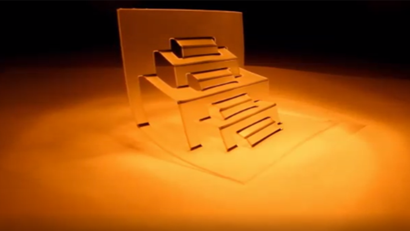 kirigami-based reconfigurable two dimensional (2-D) and three dimensional (3-D) structures