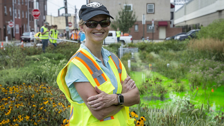 Civil and Environmental Engineering Assistant Professor Erica R. McKenzie